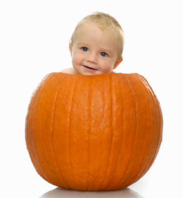 Pumpkin baby via AmesburyLibraryOrg