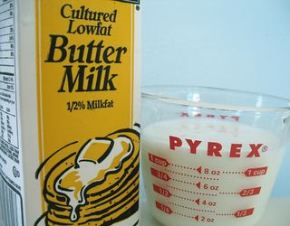 Fake buttermilk via TheKitchn