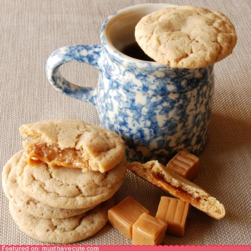 Cute-kawaii-stuff-epicute-caramel-stuffed-apple-cider-cookies musthavecute_com