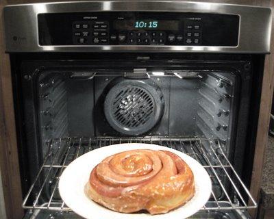 Bun in the oven via thawheatandserve.blogspot-com
