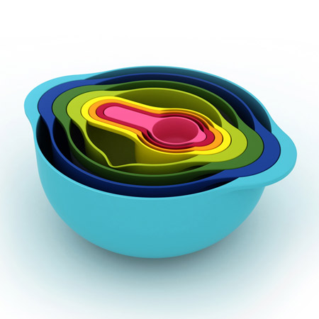 Mixing bowls via WriteClickScrapbook_com