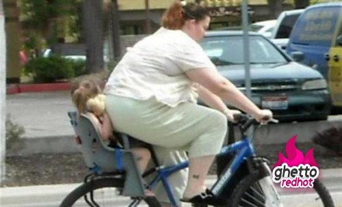 Fat-lady-child-bike via GhettoRedHot_com