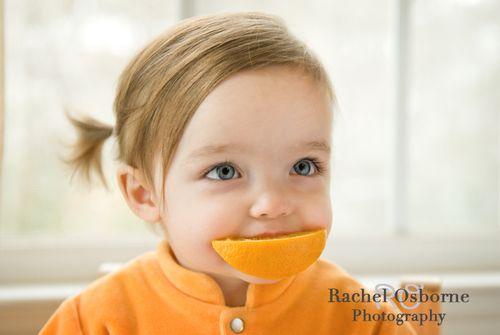 Orange smile via rachelosbornephotography-com