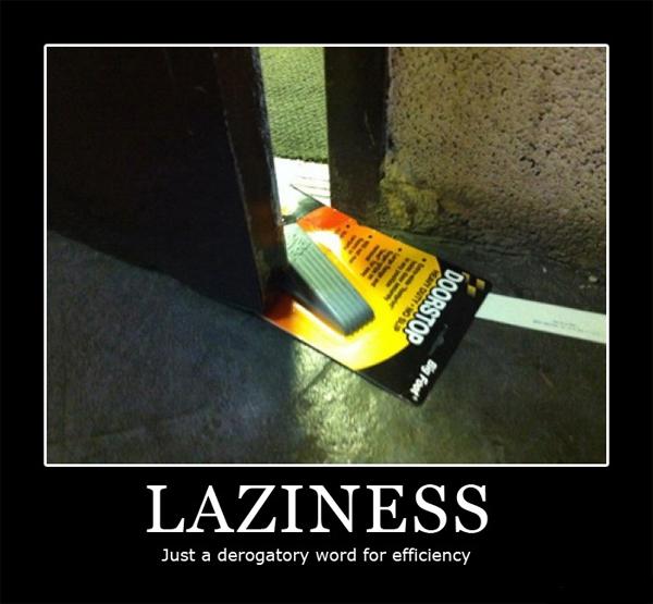 Laziness via g4tv_com